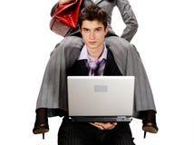 Routine work burden. Royalty Free Stock Photo