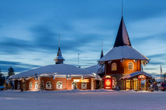 Rovaniemi, деревня Санта Клауса Стоковое Изображение RF