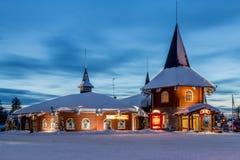 Rovaniemi, het dorp van de Kerstman Royalty-vrije Stock Afbeelding
