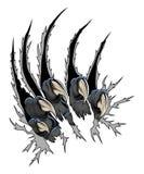 Rovdjurs- jordluckrare royaltyfri illustrationer