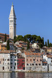 Rovenj - Istrian Peninsula - Croatia. The city of Rovenj on the Istrian Peninsula in Croatia. The town is also know by its Italian name of Rovigno. Located on stock photo