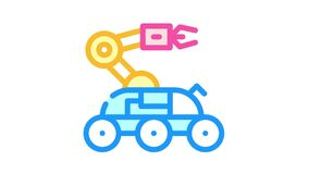 rover discovery transport color icon animation