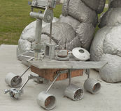 Rover Sculpture at NASA Langley Research Center Royalty Free Stock Photo