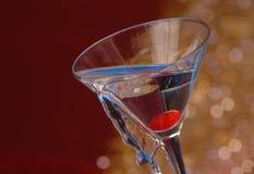 Rovesciamento del cocktail Fotografia Stock Libera da Diritti