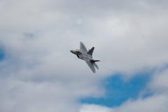 rovfågel för 22 f Lockheed Martin Arkivfoto