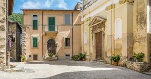 Roviano, comune στη μητροπολιτική πόλη της Ρώμης στην ιταλική περιοχή Latium Στοκ εικόνες με δικαίωμα ελεύθερης χρήσης