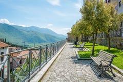 Roviano, comune in the Metropolitan City of Rome in the Italian region Latium Royalty Free Stock Images
