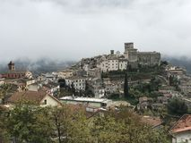 Roviano village, Lazio region, Italy Royalty Free Stock Photos