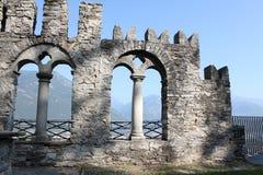 Rovide Mattarella the castle Royalty Free Stock Photography