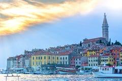 Rovigno, Istria, Croazia immagine stock