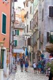 Rovigno - Rovinj, Croacia Foto de archivo libre de regalías