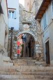 Rovigno - Rovinj, Croacia Fotografía de archivo