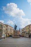Rovigo, Veneto, Italy. Garibaldi Square in Rovigo, Veneto, Italy Royalty Free Stock Image