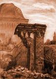 Rovina antica Immagini Stock
