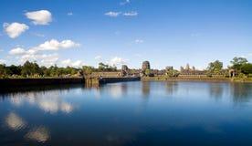 Rovina cambogiana antica del tempio all'aperto Fotografie Stock Libere da Diritti