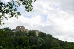 Rovina del castello Fotografie Stock