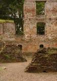 Rovina del castello di Trojborg vicino a Tonder, Danimarca Fotografia Stock Libera da Diritti