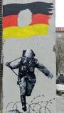 Rovina del muro di Berlino Immagini Stock Libere da Diritti