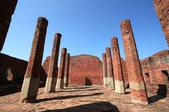 Rovina del tempiale in Wat Prasrisanpetch immagine stock