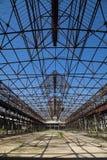 Rovina della fabbrica Fotografia Stock
