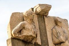 Rovina della statua Fotografia Stock
