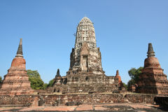 Rovina dello stupa fotografia stock