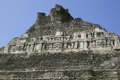 Rovina Mayan a Belize Immagini Stock