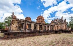 Rovina religiosa di Prasat Hin Mueang Tam Hindu situata in Buri Ram Province Thailand immagine stock