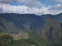 Rovina sacra di inka di picchu di Machu Fotografia Stock Libera da Diritti