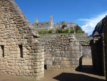 Rovina sacra di inka di picchu di Machu Immagine Stock