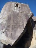 Rovina sacra di inka di picchu di Machu Fotografie Stock