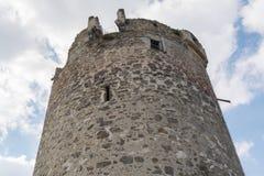 Rovina Waxenberg - Austria del castello della torre dell'allerta Immagine Stock