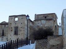 Rovine Alhama de Granada della chiesa Immagine Stock