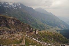 Rovine alpine Fotografia Stock