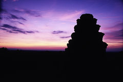 Rovine Angkor Wat, Cambogia Immagine Stock Libera da Diritti