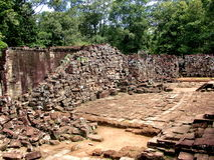 Rovine antiche in Cambogia Fotografie Stock Libere da Diritti