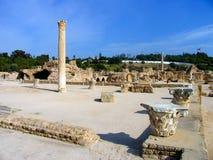 Rovine antiche a Cartagine Fotografia Stock Libera da Diritti