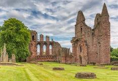 Rovine antiche dell'abbazia di Arbroath Fotografie Stock Libere da Diritti