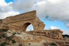 Rovine antiche dell'Israele Fotografia Stock Libera da Diritti
