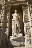 Rovine antiche della città di Ephesus, corsa in Turchia Immagini Stock Libere da Diritti