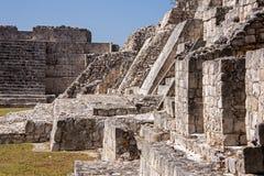 Rovine antiche della civilizzazione di maya fotografia stock libera da diritti
