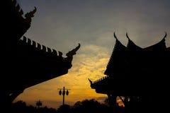 Rovine antiche della Tailandia Immagini Stock