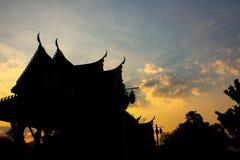 Rovine antiche della Tailandia Fotografia Stock