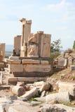 Rovine antiche di ephesus Fotografia Stock