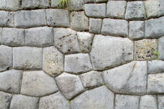 Rovine antiche di inca di Sacsayhuaman vicino a Cusco, Perù fotografie stock