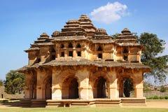Rovine antiche di Lotus Temple Hampi, India Immagine Stock Libera da Diritti