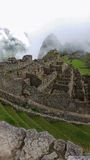 Rovine antiche di Machu Picchu Fotografie Stock