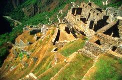 Rovine antiche di Machu Picchu Immagine Stock Libera da Diritti
