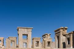 Rovine antiche di Persepolis, Iran Fotografia Stock