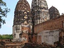 Rovine antiche di Sukhothai fotografia stock